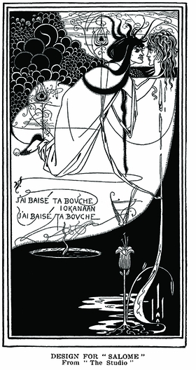 Featured image is reproduced from 'The Art of Aubrey Beardsley.'