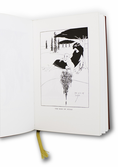 The Art of Aubrey Beardsley, between the mind's outline and the outline of visible things