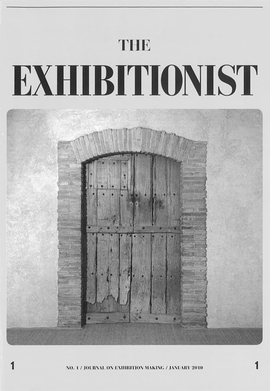 Featured image is reproduced from 'The Exhibitionist: Journal on Exhibition Making.'