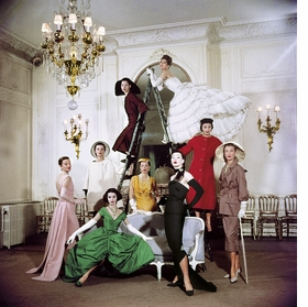 Featured image is reproduced from 'The House of Dior: Seventy Years of Haute Couture.'