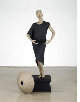 """Human Statue (Jessie)"" (2011), by Frank Benson, is reproduced from <I>The Human Factor</I>."