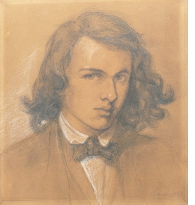 "Featured image, an 1847 self-portrait of Dante Gabriel Rossetti, is reproduced from <I>The Pre-Raphaelite Circle</I>. ""The image captures Rossetti's youthful personality as an ambitious dreamer, with 'an abundance of ideas, pictorial and literary,' as his brother wrote, and a fixed antipathy to the modern world."""