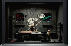 "The set from ""Dormitorium,"" the Quay Brothers' 1993 single channel video installation, is reproduced from <I>The Quay Brothers' Universum</I>."