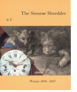 The Sienese Shredder Issue 1