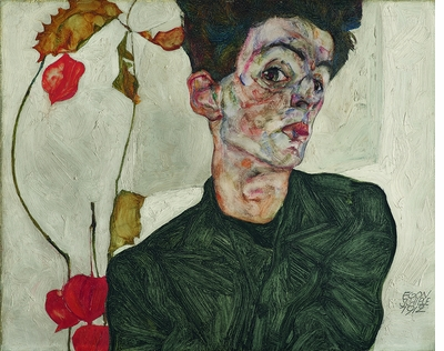 The torment of the loner, the distress of the seeker beset by visions: Egon Schiele