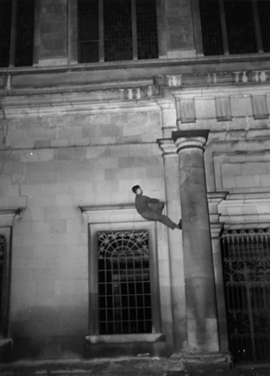 Featured image is reproduced from <I>Thomas Mailaender: The Night Climbers of Cambridge</I>.