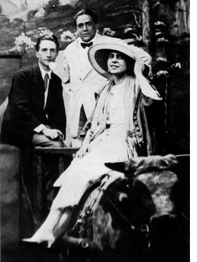 "Featured photograph, captioned: ""Marcel, Francis Picabia and me at Coney Island, June 21, 1917"" is reproduced from <I>Three New York Dadas and The Blind Man</I>."