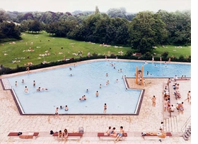 "Featured image, Andreas Gursky's <i>Ratingen Swimming Pool</i>, 1987, is reproduced from <a href=""9780982119549.html"">Time Capsule</a>."