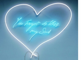 "Featured image, Tracey Emin's <i>You Forgot to Kiss My Soul</i>, 2001, is reproduced from <a href=""9781853322938.html"">Love is What You Want</a>."