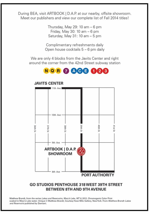 Visit the ARTBOOK | D.A.P. Showroom during BEA