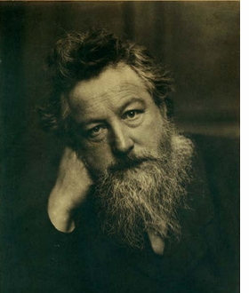 Featured image is reproduced from <I>William Morris: Words & Wisdom</I>.