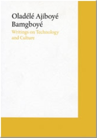 Writings On Technology And Culture Witte de With Center for Contemporary Art Introduction by Bartomeu Marí.