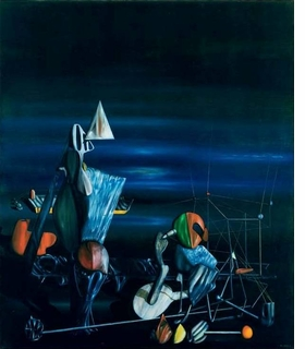 "Featured image, of a Tanguy painting which utilizes forms similar to those used by Calder in his mobiles, is from <a href=""9780979094286.html"">Yves Tanguy & Alexander Calder: Between Surrealism and Abstraction</a>, published by L&M Arts."