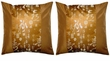 Asian Cushion Covers - Good Fortune, Wealth, Longevity, Happiness (pair)