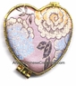 Brocade Compact Mirror - Flowers #15