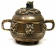 Chinese Bronze Incense Burner - Dragon #1