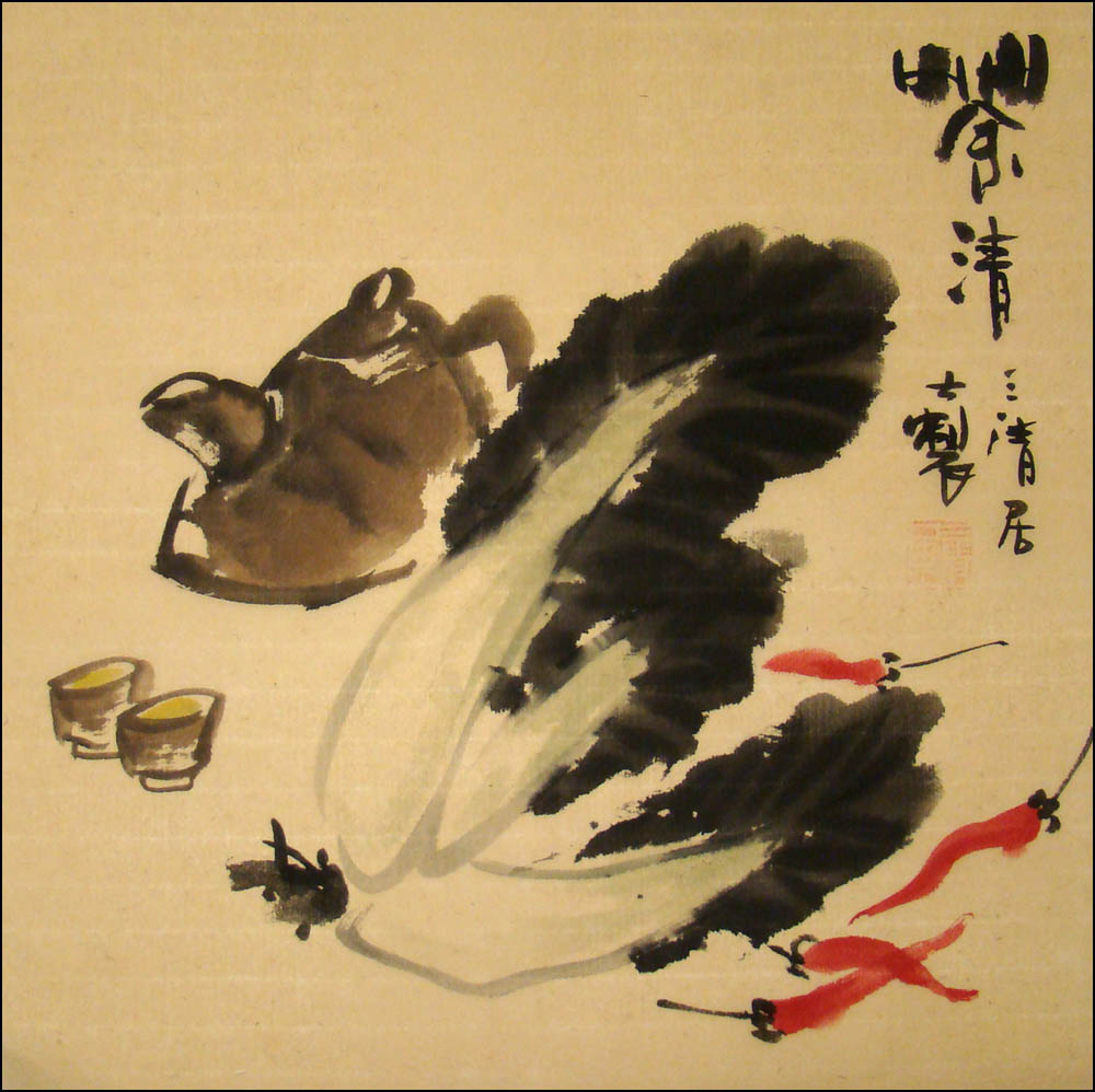 Chinese Brush Painting - Tea, Chinese Brush Painting, Chinese ...