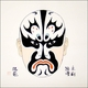 Chinese Brush Painting - Beijing Opera Mask #546