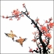 Chinese Brush Painting - Birds & Plum Blossom