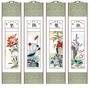 Chinese Brush Painting Scrolls - 4 Seasons