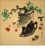 Chinese Brush Painting - Tea Time #45