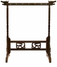 Chinese Calligraphy Brush Stand - Large Wooden Dragon Stand