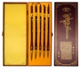 Chinese Calligraphy Set - Five Chinese Calligraphy Brushes  #15