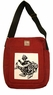 Chinese Canvas Bag - Chinese Folk Art / Good Fortune Kid & Fish #4
