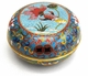 Chinese Cloisonne Box  - Goldfish / Wealth & Prosperity #11