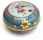 Chinese Cloisonne Box  - Mandarin Ducks #12