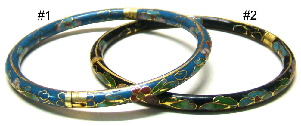 Click To Enlarge Chinese Cloisonne Bracelet