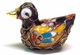 Chinese Cloisonne Duck #19
