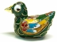 Chinese Cloisonne Duck #22