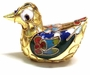 Chinese Cloisonne Duck #23