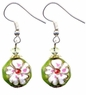Chinese Cloisonne Earrings (pair) #15