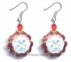 Chinese Cloisonne Earrings (pair) #17