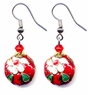 Chinese Cloisonne Earrings (pair) #18