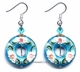 Chinese Cloisonne Earrings (pair) #2
