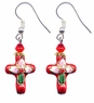 Chinese Cloisonne Earrings (pair) #20