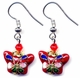 Chinese Cloisonne Earrings (pair) #21