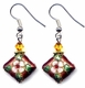 Chinese Cloisonne Earrings (pair) #24