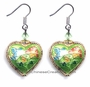 Chinese Cloisonne Earrings (pair) #29