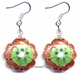 Chinese Cloisonne Earrings (pair) #32