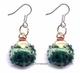 Chinese Cloisonne Earrings (Pair) #45