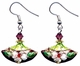 Chinese Cloisonne Earrings (pair) #6