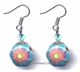 Chinese Cloisonne Earrings (pair) #60