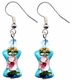 Chinese Cloisonne Earrings (pair) #7