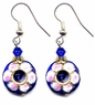 Chinese Cloisonne Earrings (pair) #8