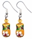 Chinese Cloisonne Earrings (pair) #9