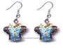 Chinese Cloisonne Earrings (Pair) - Butterfly #47